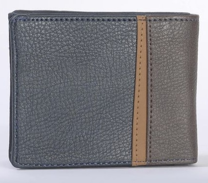 GW CULTURE Y G Z ENGLISH BLUE (BLUE) S WALLET FOR MEN