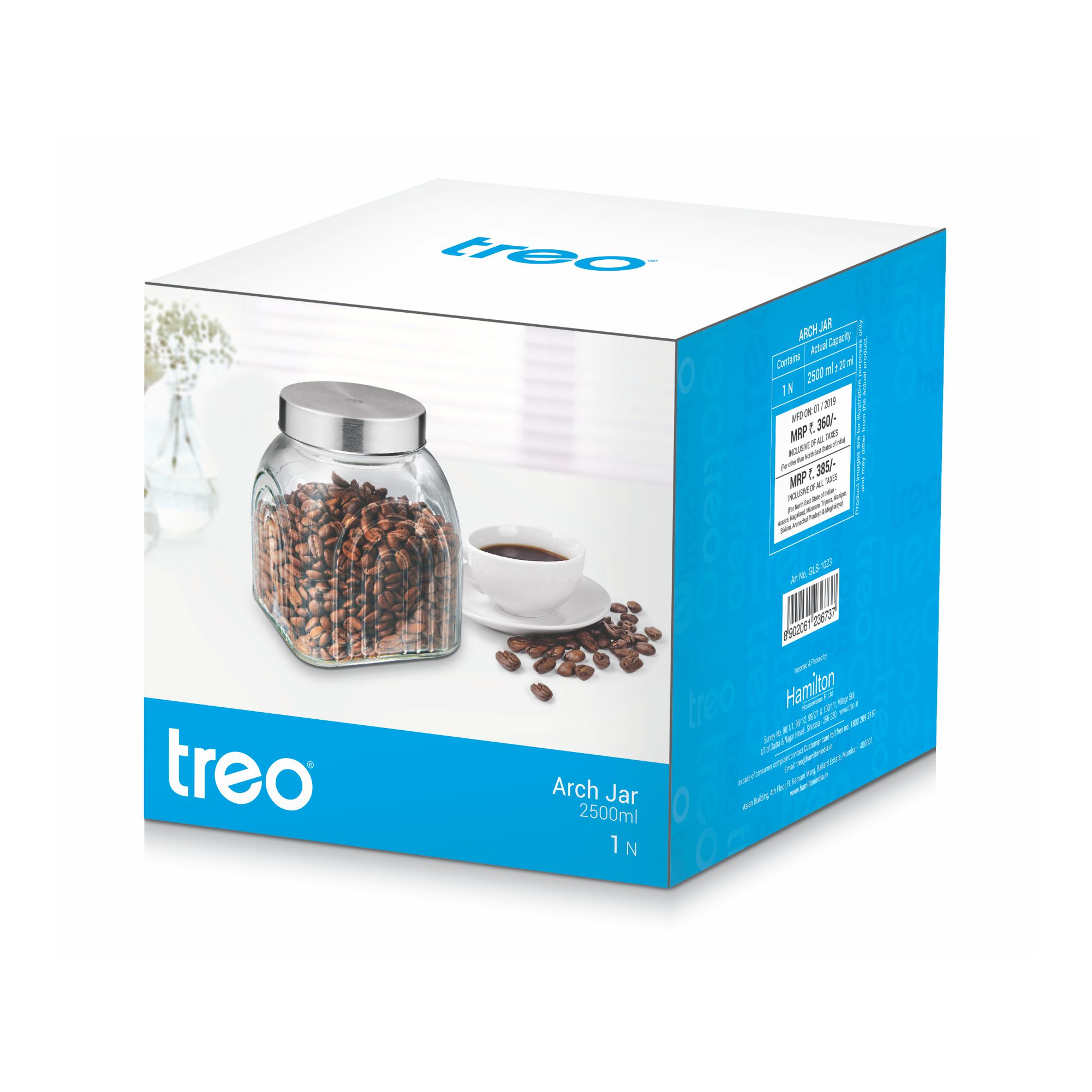 Treo Arch Jar (2500 ML)