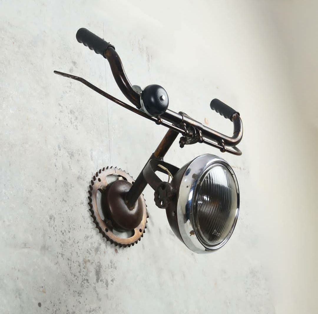 Decorative Recycled Wall Light