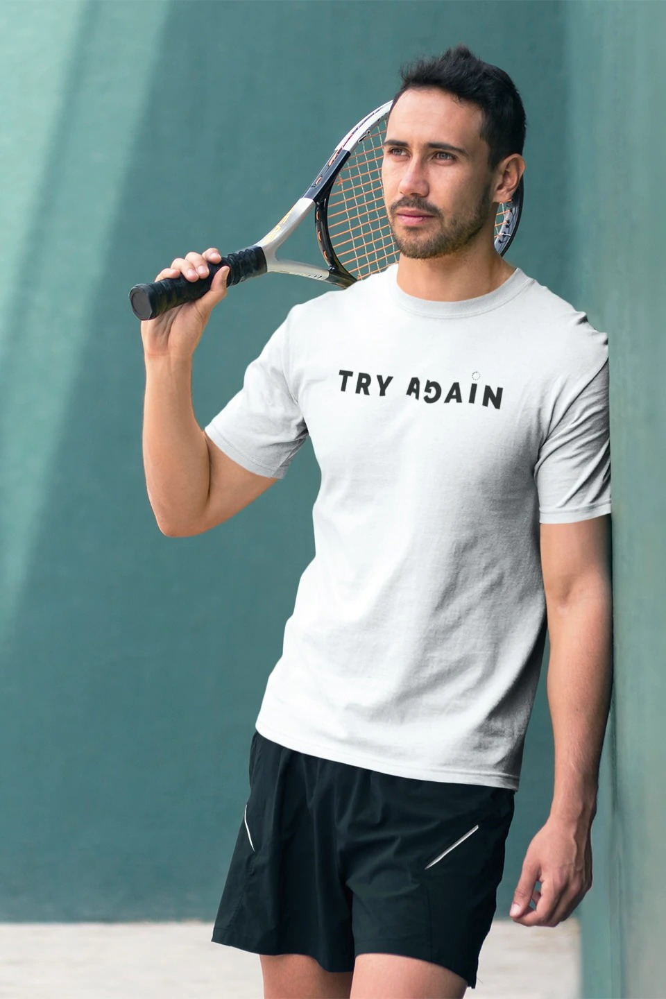 One Word Try Again Unisex T-shirt (XXL)