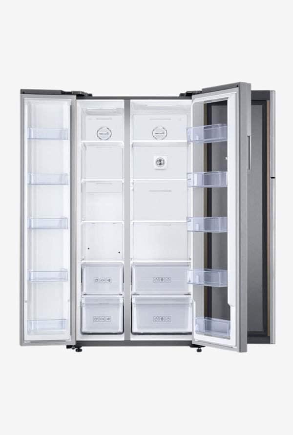 Samsung RH62K60B77P 674 L Inverter Frost Free Side By Side Refrigerator (Refined Gleam)