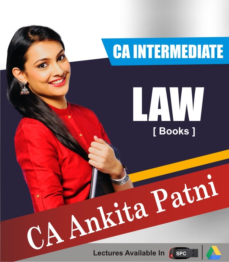 CA INTERMEDIATE GROUP I Corporate And Other Laws Books By CA ANKITA PATNI