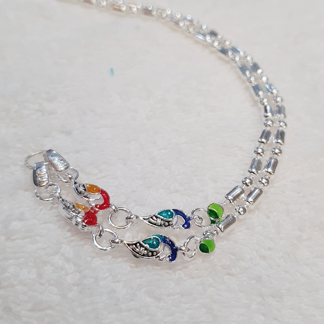 PEACOCK ANKLETS
