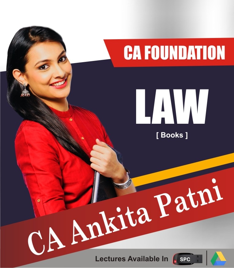 CA FOUNDATION Paper-2: Law Chart Books By CA ANKITA PATNI