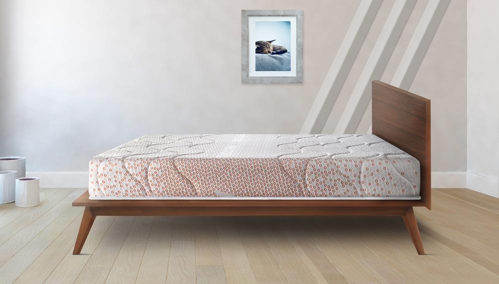 Hypnos Memorio 100% Memory Foam Quilt With Soft Top Mattress (72X60X5)