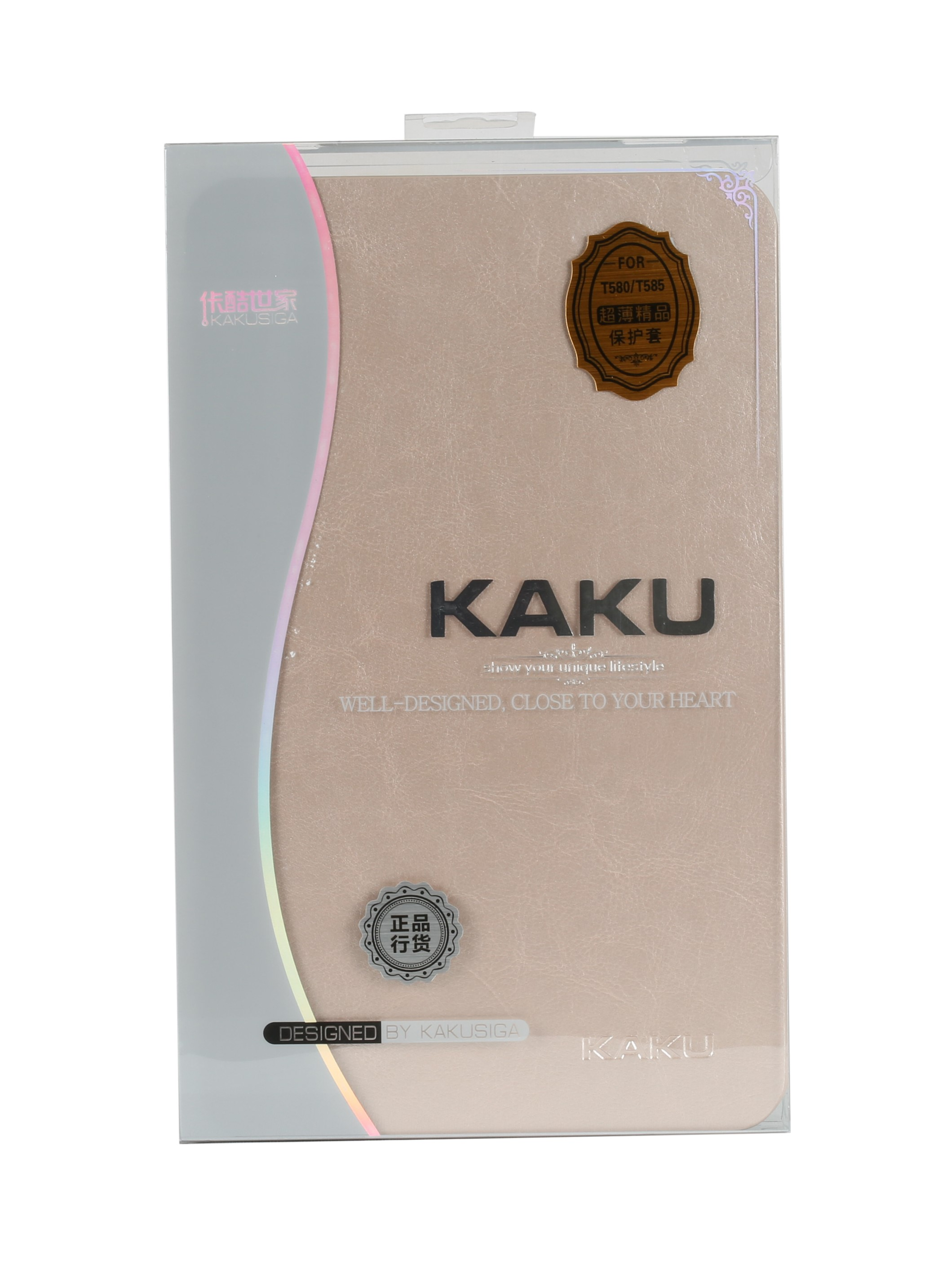 "KAKU FLIP COVER FOR SAMSUNG TAB A (10.1"") / T580/T585 (GOLD)"
