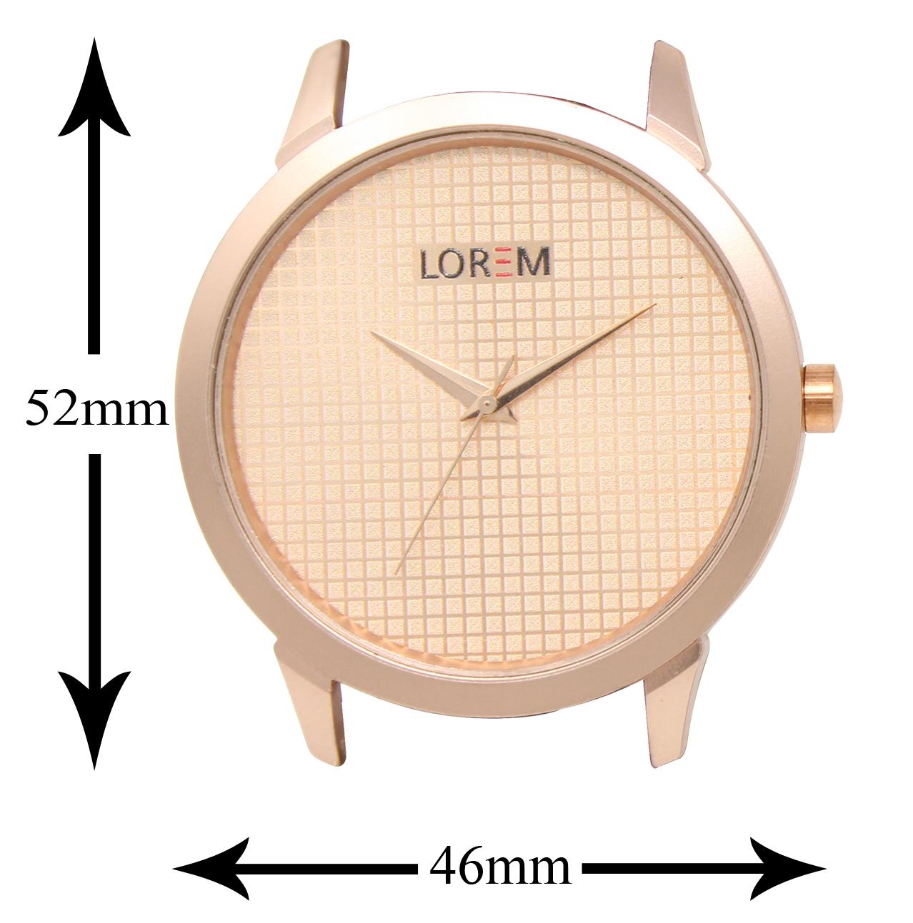 LOREM  Official Brown Dial Leather Belt Watch For Men&Boys