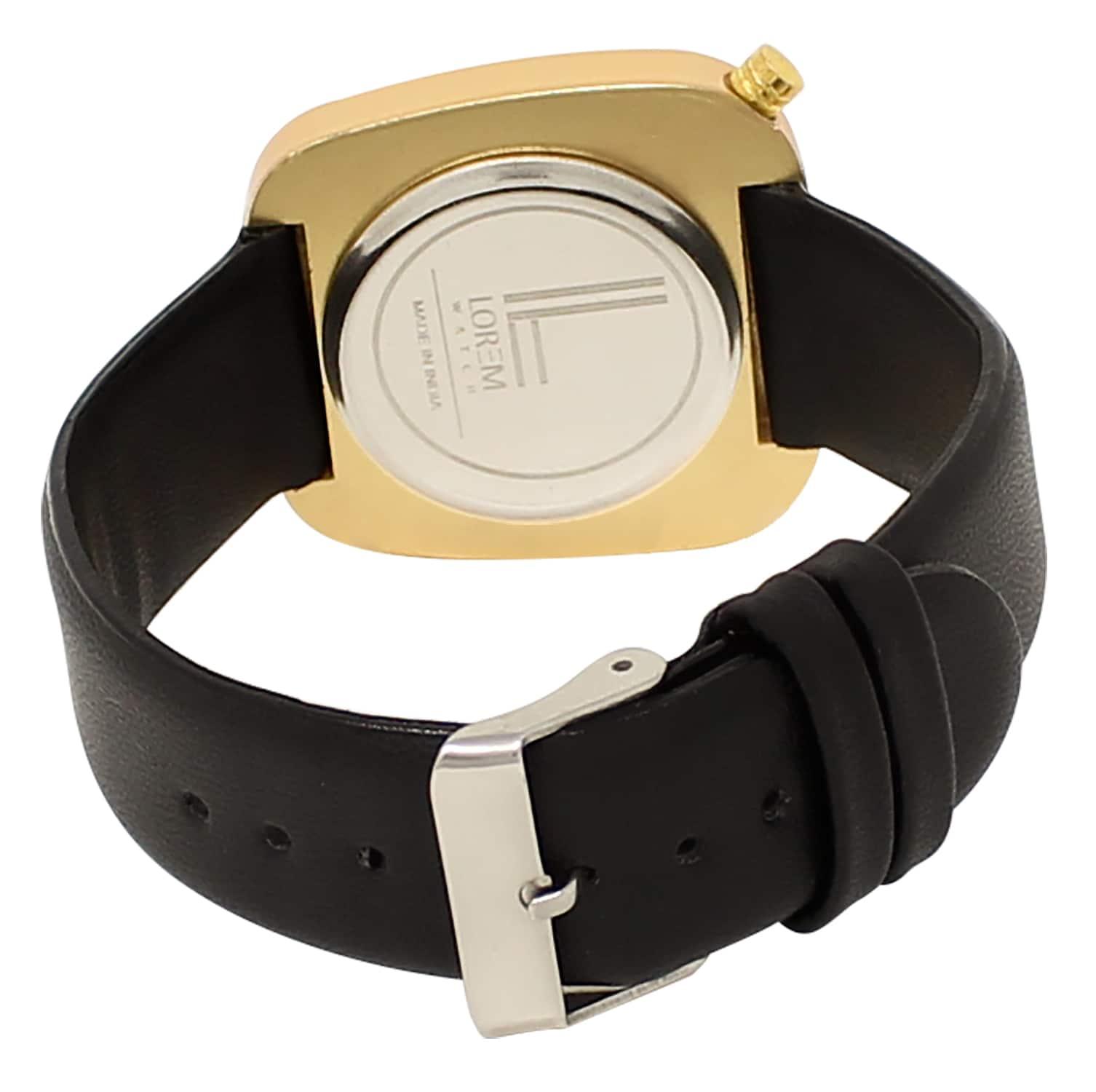 LOREM Analogue Multi-Colour Dial Men's Watch