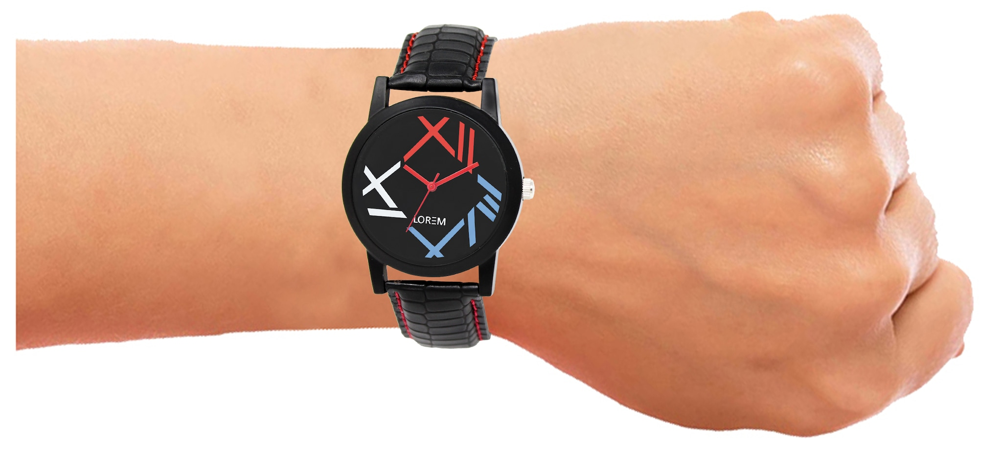 Analogue Multicolour Dial Watch For Men And Boys