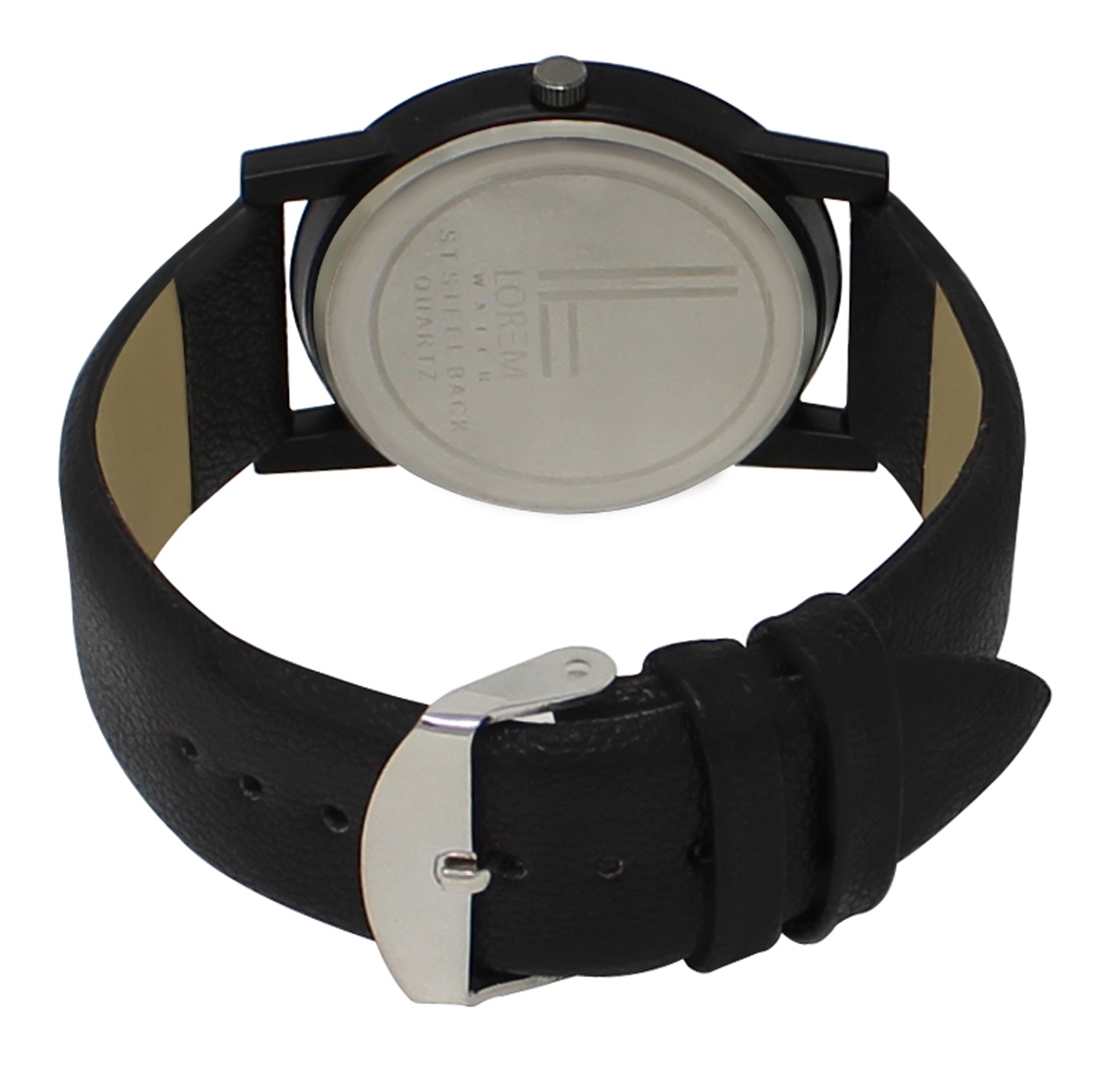 Analogue Black Dial Watch For Men And Boys
