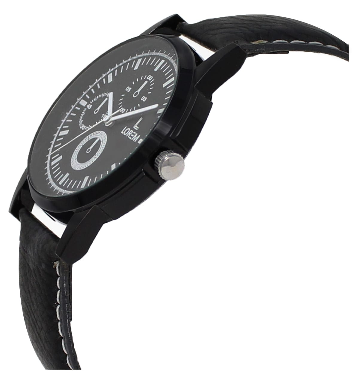 New Arrival Analogue Black Dial Men'S Wrist Designer Watch