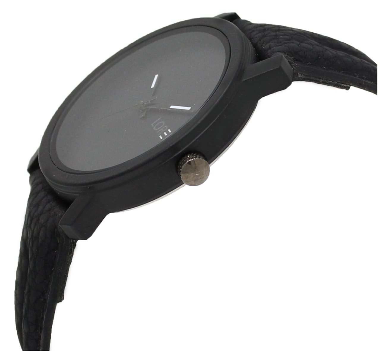 LOREM Analogue Black Dial Wrist  Watch For Men And Boys