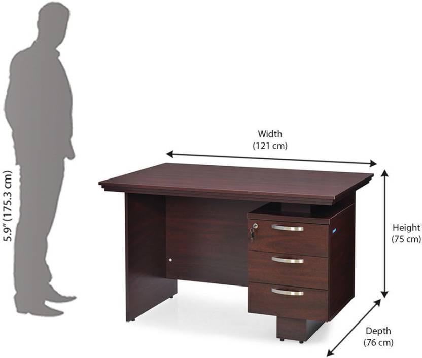 Nilkamal Vento Engineered Wood Office Table
