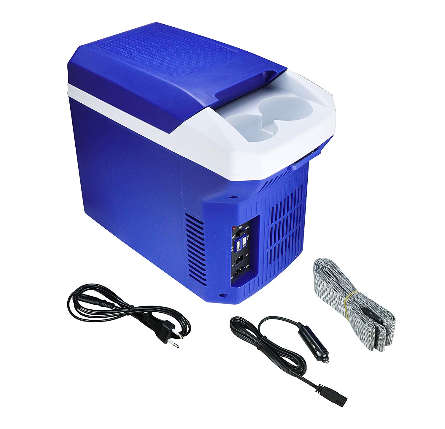 BLACKCAT THERMOELECTRIC COOLER CUM WARMER 8 LTS. TB-08