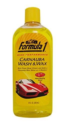 Formula 1 Wash & Wax Shampoo 236ml