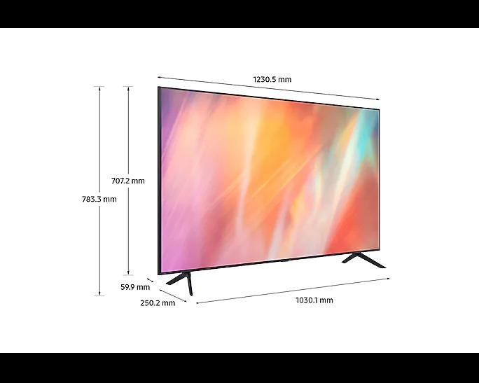 "SAMSUNG (UA55AU7500KLXL) 138cm (55"") Crystal 4K UHD Smart TV"
