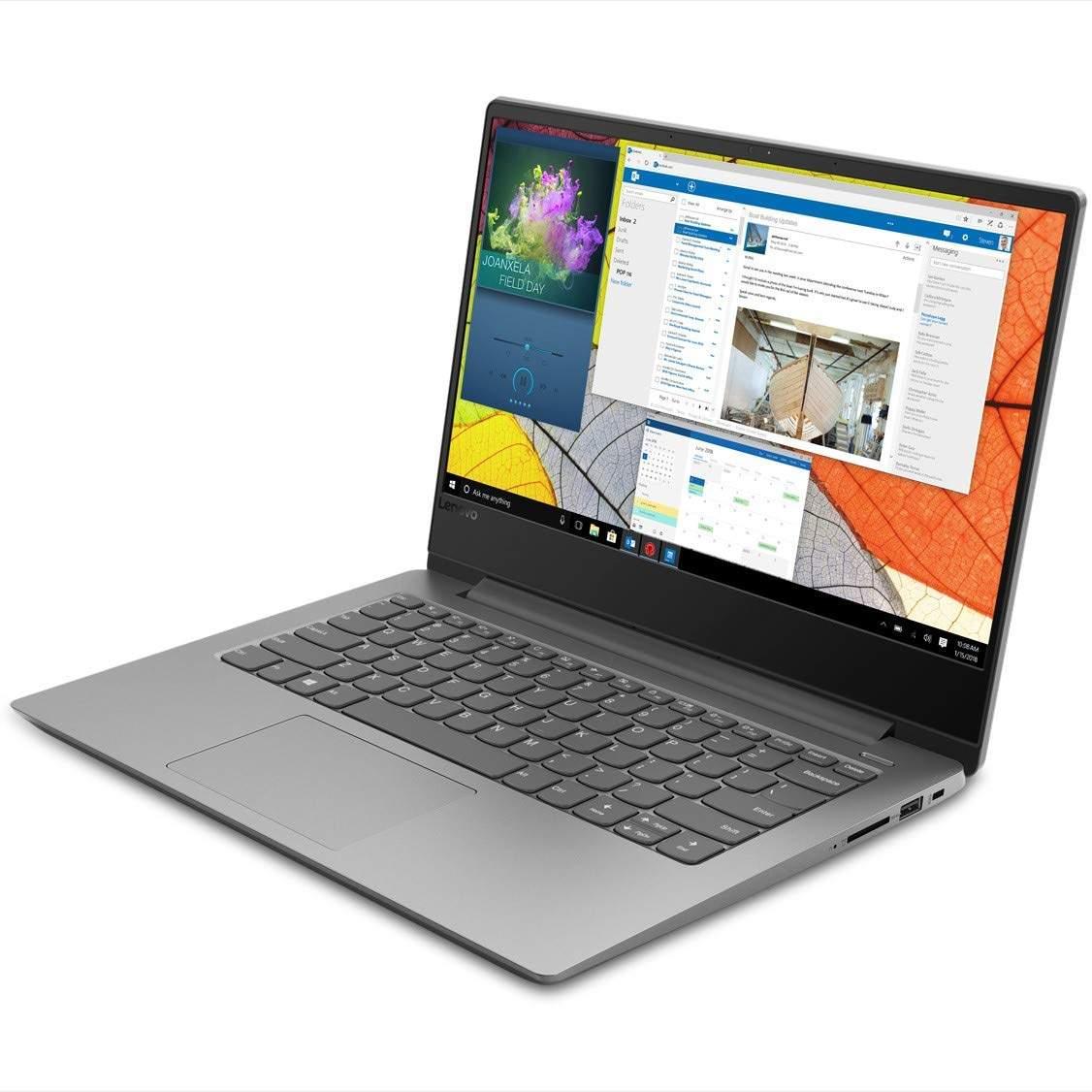 Lenovo Ideapad 330S Intel Core I3 7th Gen 14- HD Thin And Light Laptop ( 4GB RAM / 1TB HDD / Windows 10 Home / Platinum Grey / 1.6Kg ), 81F4008UIN