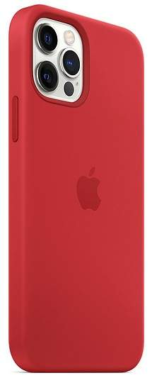 Apple IPhone 12, 12 Pro Silicone Case With MagSafe (Product Red)