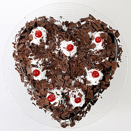 Flakey Hearts Black Forest Cake (1kg)