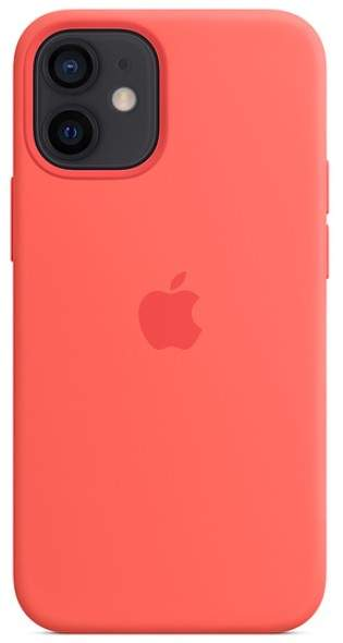 Apple IPhone 12 Mini Silicone Case With MagSafe (Pink Citrus)