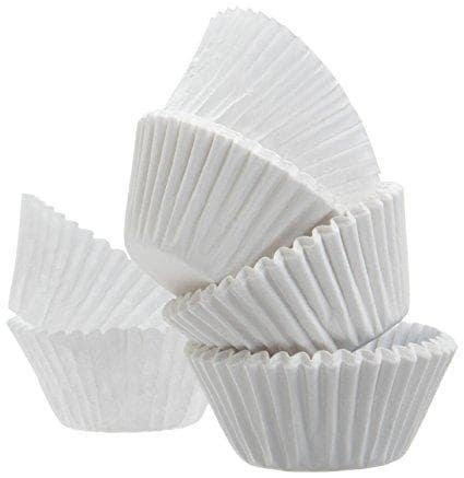 100 Baking Paper White Muffin Paper Cup