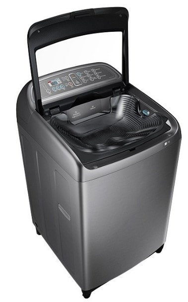 Samsung WA11J5750SP/TL Fully-automatic Top-loading Washing Machine (11 Kg, Inox)