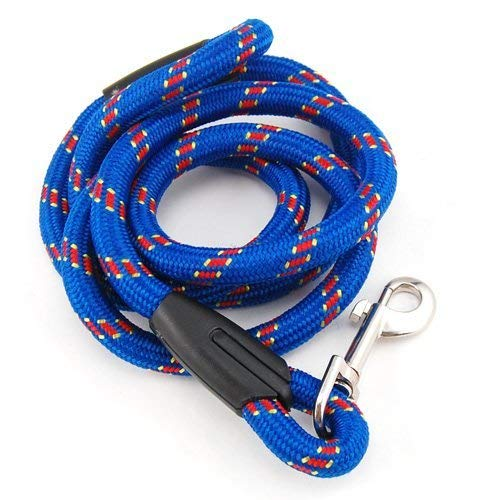 Pets Empire Dog Leash Dog Rope Leash For Small Medium Large Pets Nylon Rope 4 FT..1 Piece Color & Pattern May Vary (Large)