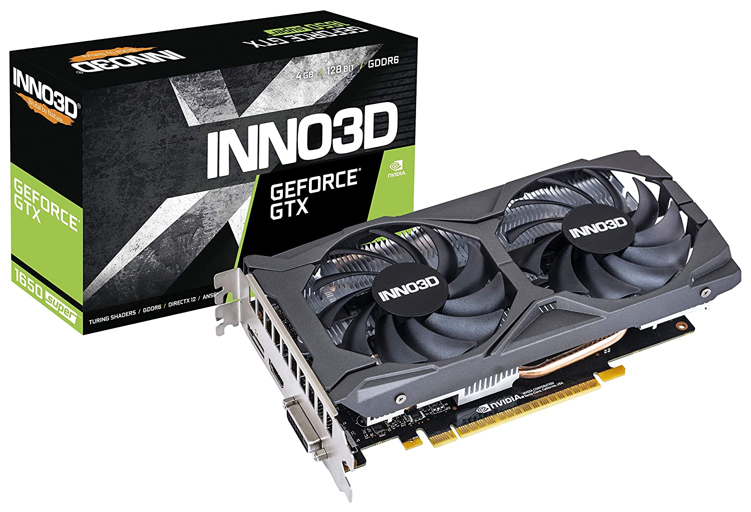Inno3d GTX 1650 Super Twin X2 OC 4GB