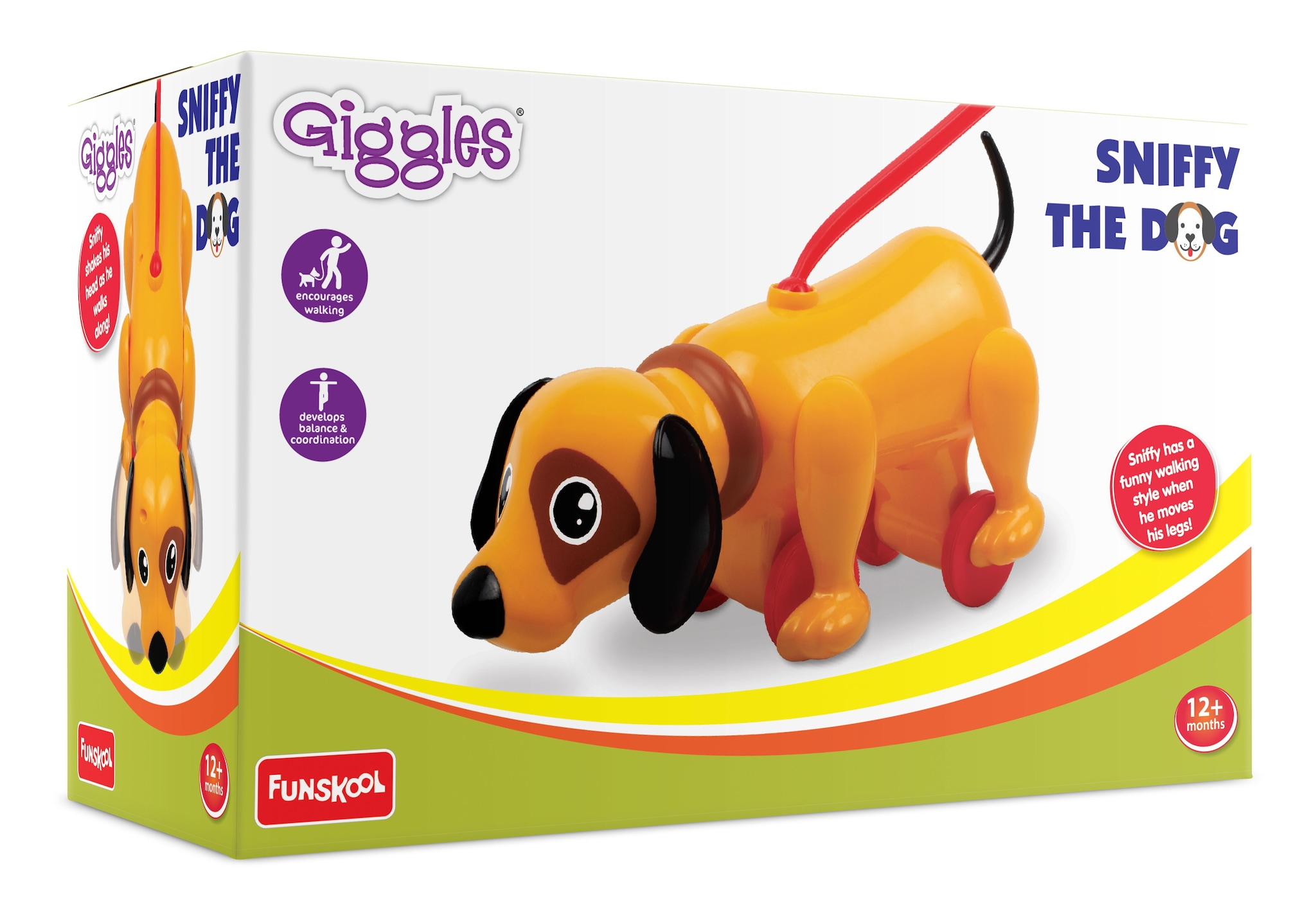 GIGGLES SNIFFY THE DOG 5168600