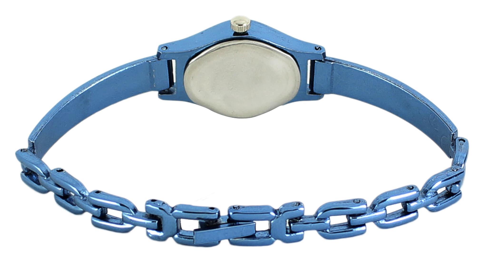 Lorem Attractive Analogue Blue Fashion Wrist Watch For Women & Girls