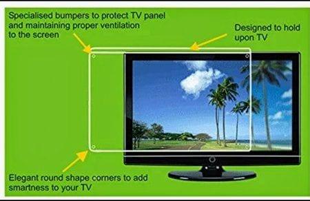"JBM MART Led TV Screen Guard / Screen Protector/ Screen Shield For 55"""