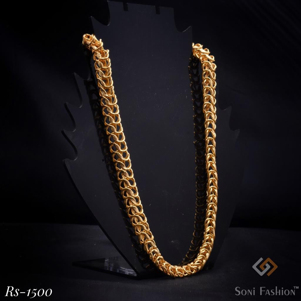 Hand Made Rope Link Brass Chain 1500