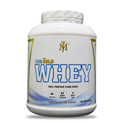 MJ 100% Gold Whey Protein(2kg)Chocolate