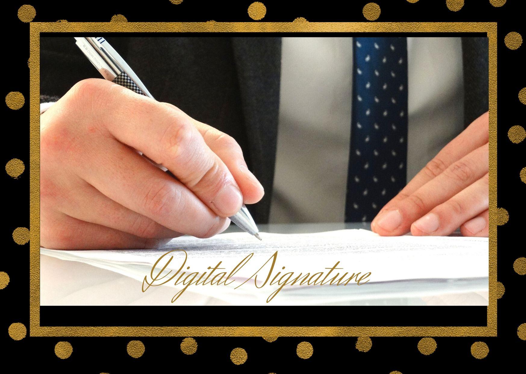 DSC (Digital Signature)