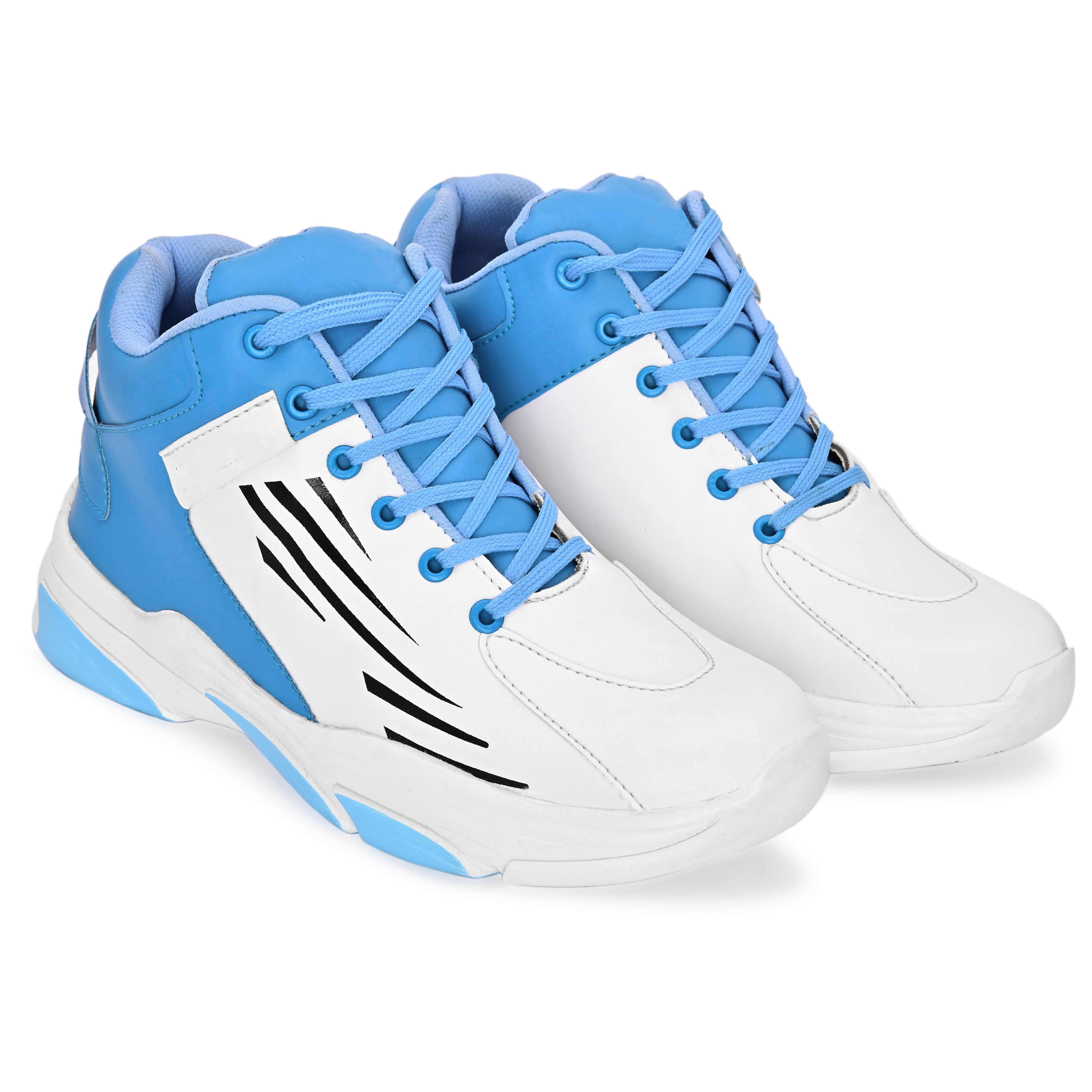 BRIFAR COMFORTABLE & TRENDY SPORTS SHOES ARE RELIABLE FOR ANY BFS0797BLU (6-9, BLUE, 4 PAIR)