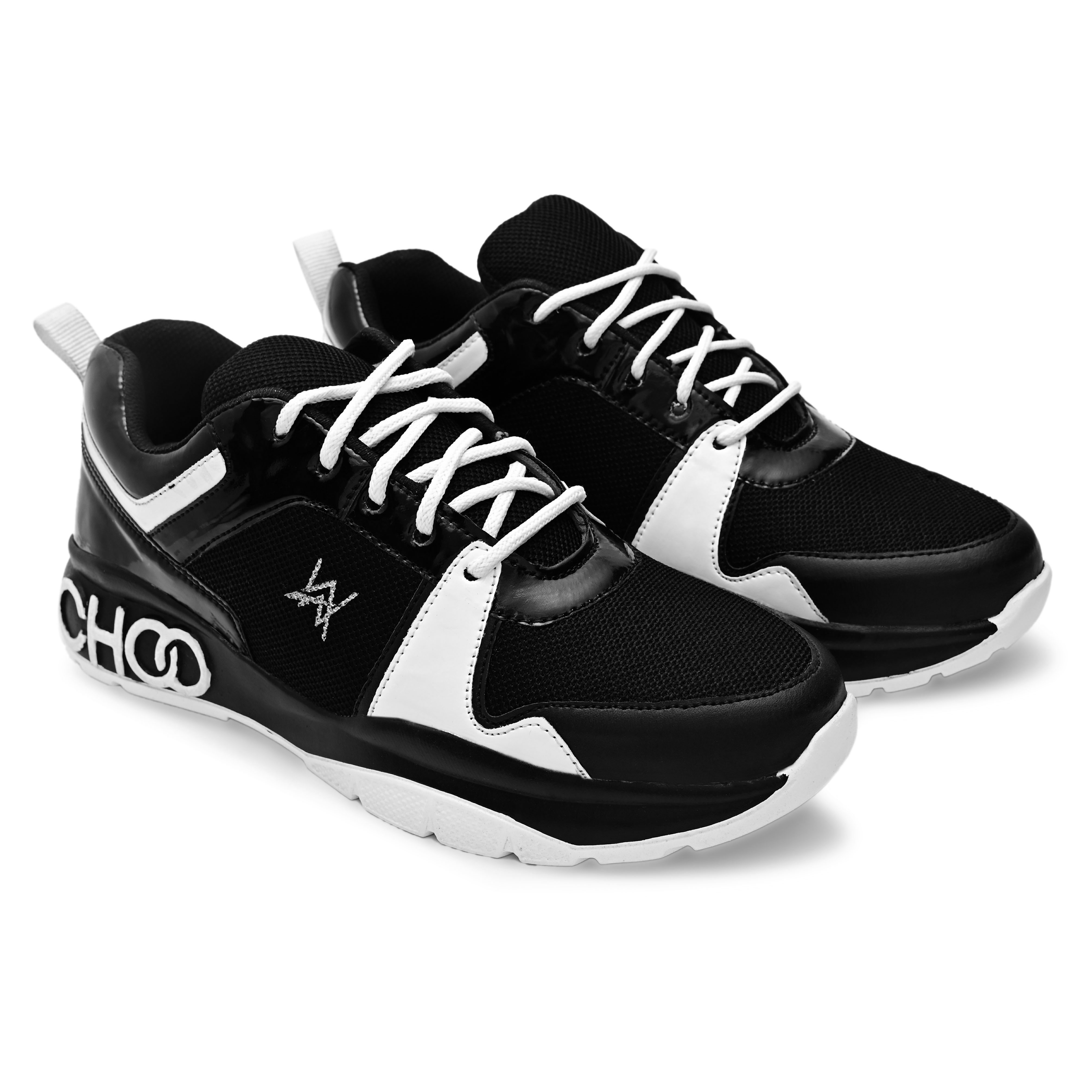 BRIFAR COMFORTABLE & TRENDY SPORTS SHOES ARE RELIABLE FOR ANY BFS0809BLK (6-9, BLACK, 4 PAIR)