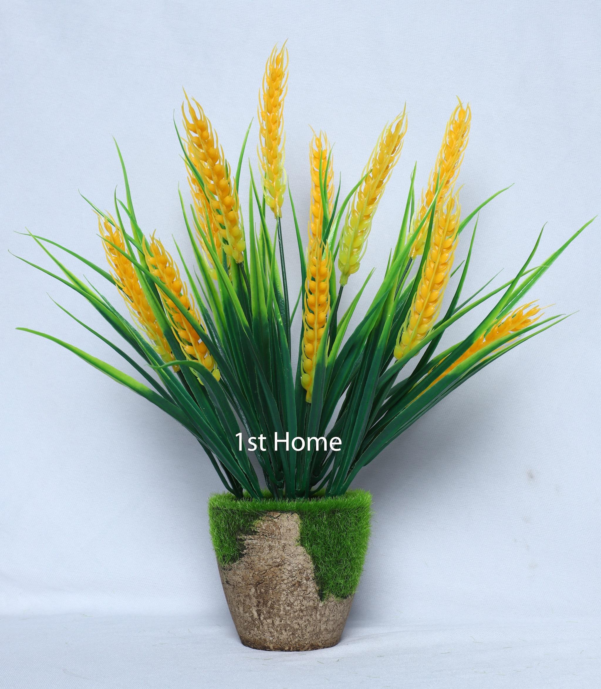 Artificial Yellow Grass Arrangement NS1031