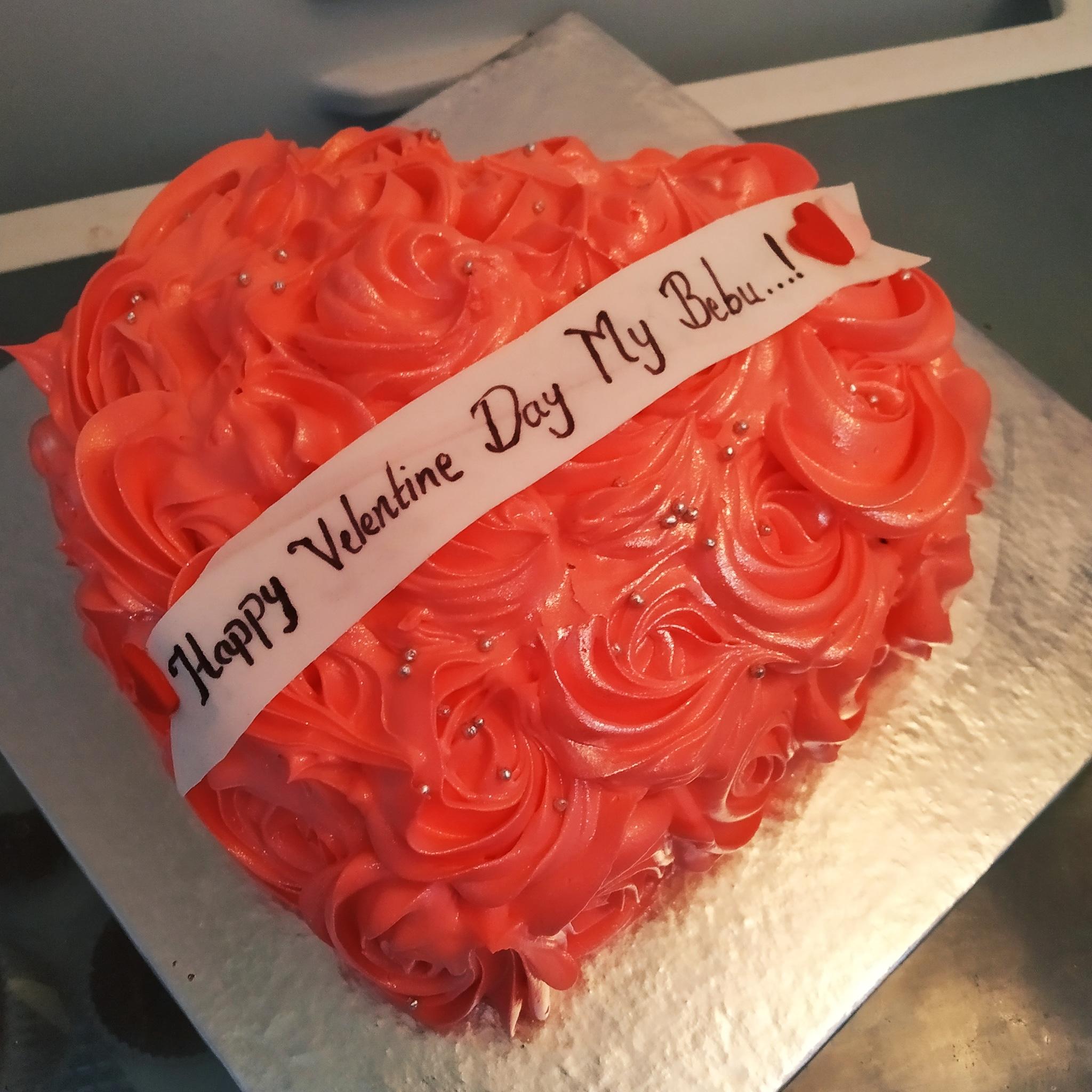 Rosette Cake (500 Gm,Chocolate)