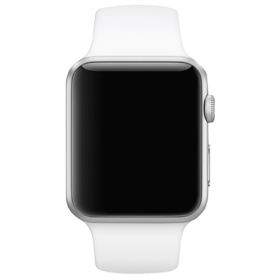 Premium Silicon 38 Mm Loops/Straps For Apple IWatch Series 3/4/5 (White)