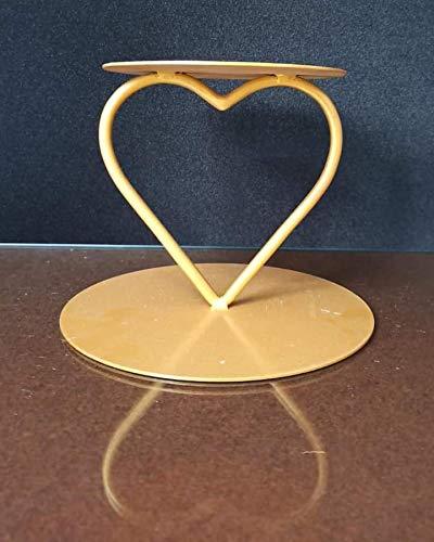 Heart Design Spacer Tier Display Wedding Metal Cake Stand Cake Decoration - Divena In