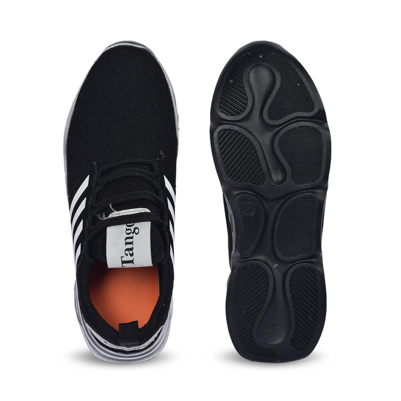 Trendy Stylish Men's Casual Shoes 242_BLACK_ADIDAS (BLACK, 7-10, 4 PAIR)