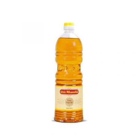 Om Santhi Pure Puja Oil - Pooja Samagri - Homely Basket