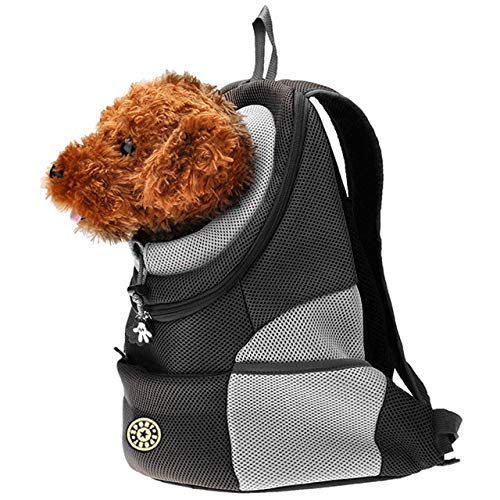Pet Carrier Backpack, Portable Dog Pet Puppy Bags Backpack Or Small Medium Dogs For Outdoor Travel Hiking-Color May Vary :45 * 36 * 21cm;Suitable For