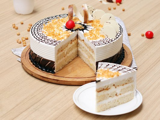 Butterscotch Ultimate Cake (1.5 KG)