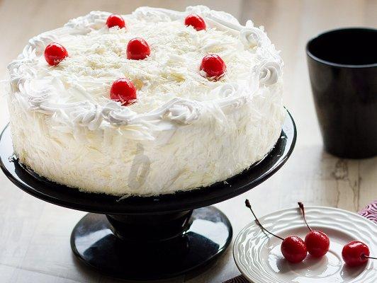 White Forest Cake (1.5 KG)