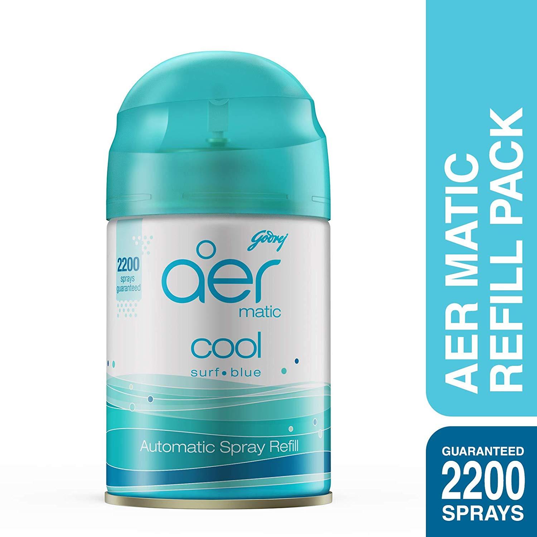 Godrej Aer Matic Refill Cool Surf Blue