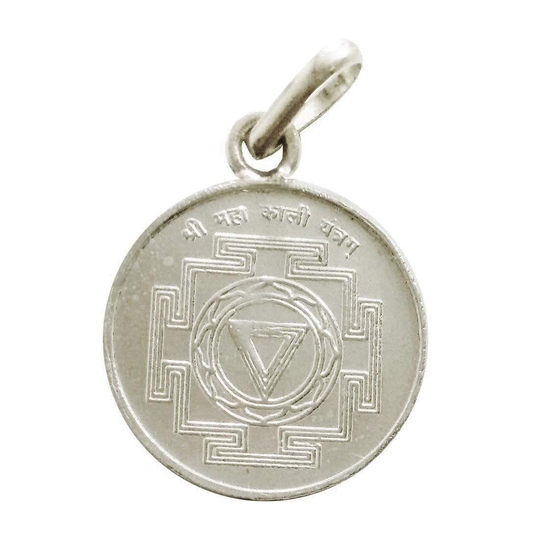 Numeroastro Shri Maha Kali Yantra Pendant In Pure Silver (5.5 Grams) (1 Pc)