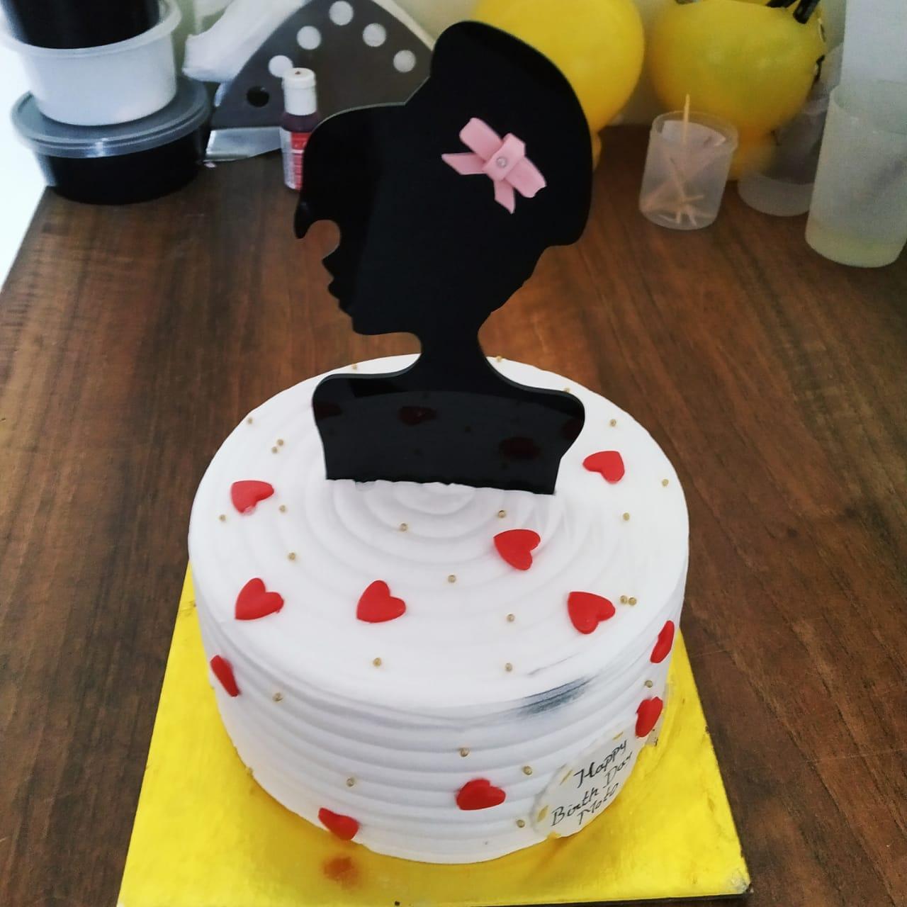 Princess Cake (500 Gm,Chocolate)