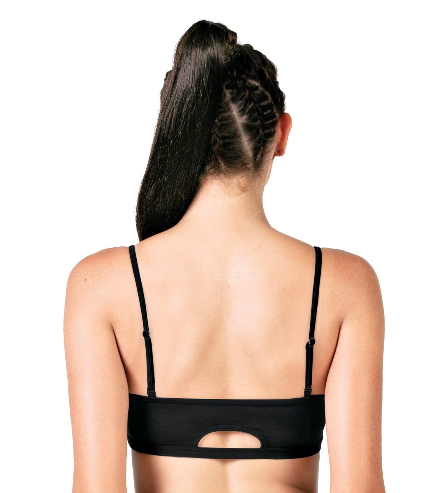 Enamor Women A022 Basic Cotton Bra (XL,Black)