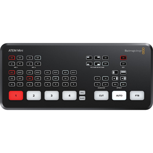 Blackmagic Design ATEM Mini HDMI Livestream Switcher